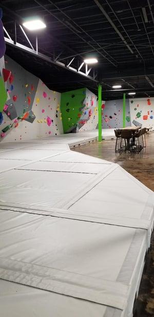 Climbing Wall Facility Mats