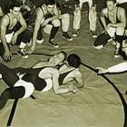 Old Wrestling Mat